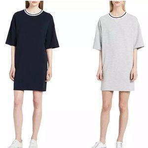 Calvin Klein Jeans T-Shirt Dress Crewneck Striped
